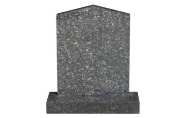 Suitable for 21-24inch wide headstone, peon top, blue pearl granite
