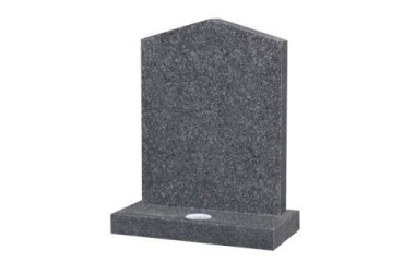 Suitable for 21-24inch wide headstone, peon top, grey granite